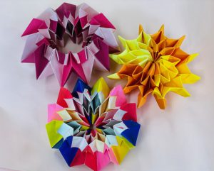 折り紙花火